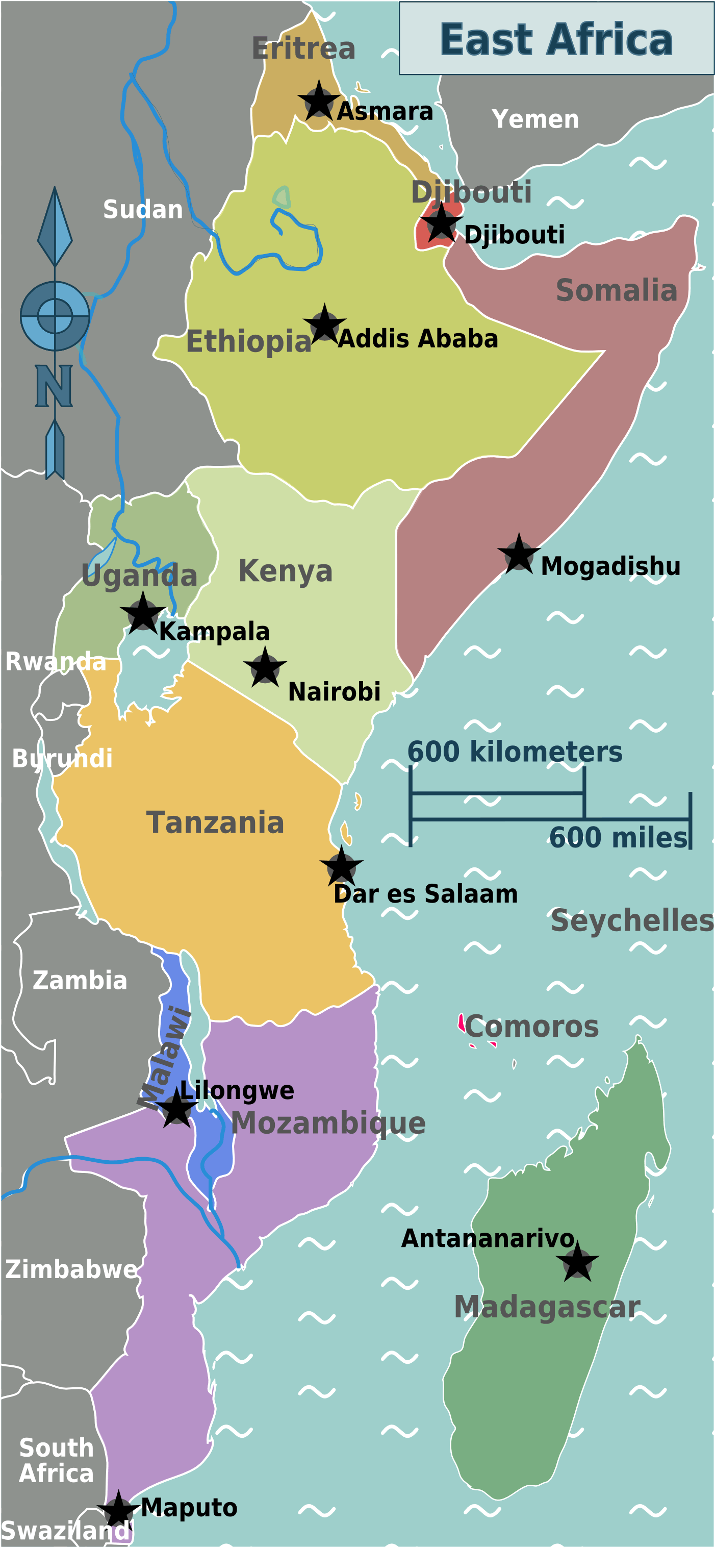 East Africa Resources Climate Change Sanity