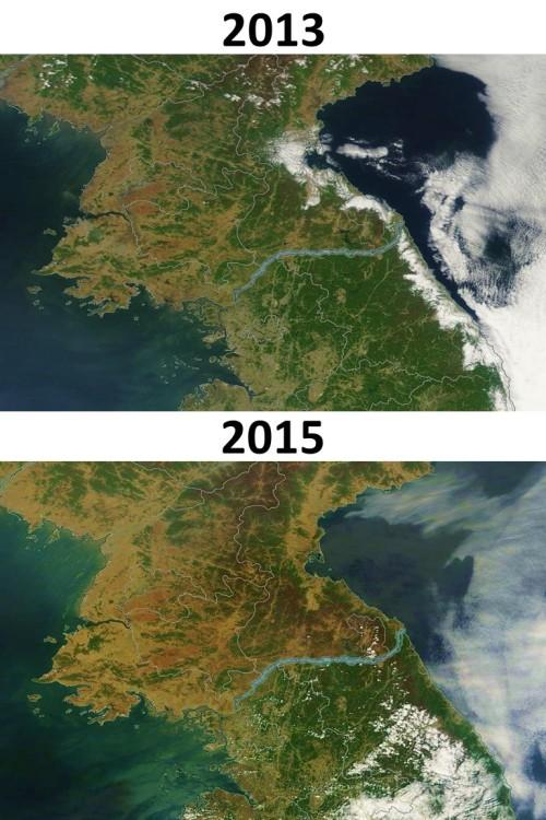 North-Korea-deforestation-2013-vs-2015